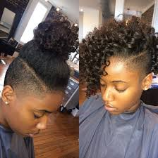 shaved sides hairstyles for black hair google search natural