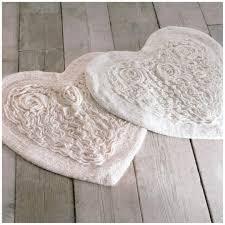 tappeto blanc mariclo tappeto da bagno blanc mariclo cuore roseto