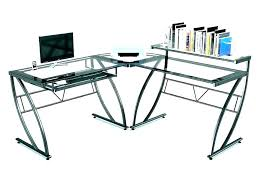 office depot l shaped glass desk glass l shaped desk glass l shaped desk kidney shaped glass computer