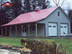 Garages That Look Like Barns View Of Garage Doors Great Idea For The Exterior And A Office