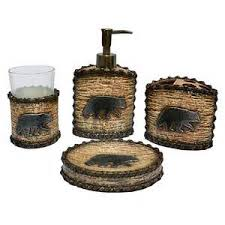 Rustic Bathroom Accessories Sets - rustic bathroom accessories set tsc