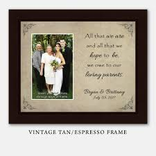 wedding gift photo frame that we are picture frame parents wedding gift
