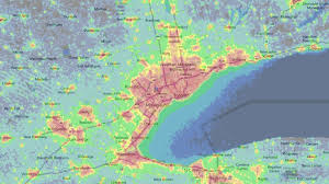 Light Polution Map Where To See The U0027supermoon U0027 Eclipse In The Toronto Area Ctv