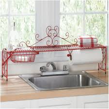 Kitchen Window Shelf Ideas Over The Kitchen Sink Racks Kitchen Window Over Sink Ideas Supreme