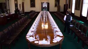 government house victoria timelapse of the state dining table