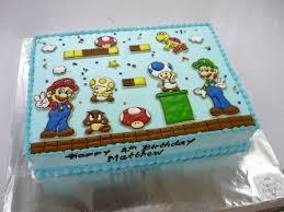 mario cakes mario brothers birthday cakes sweet secrets hong kong