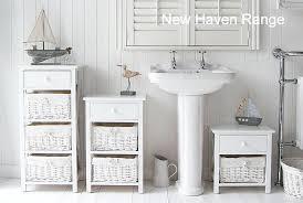bathroom freestanding cabinets whitenew haven tall white bathroom
