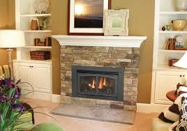 decorative fireplace ideas decoration ideas fancy brown mosaic tile brick wall around black