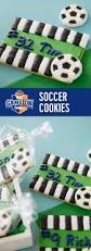 easy soccer cookies perfect as soccer themed party favors or