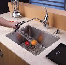 kraus 28 inch undermount sink kraus khu10123 23 inch undermount single bowl kitchen sink with 16