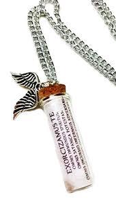 bottle necklace pendant images Supernatural tv series exorcism spell glass bottle jpg