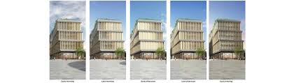 Timber Blinds Review Google U0027s London Campus Will Feature Motorized Timber Blinds Solar