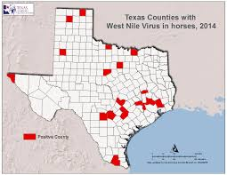 Counties In Texas Map 2014 Texas West Nile Virus Maps