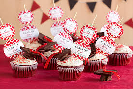 graduation cupcake ideas graduation idea cupcake toppers gift favor ideas from evermine