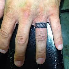 mens wedding ring tattoos 55 wedding ring finger