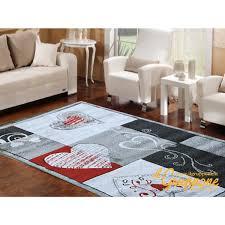 tappeto moderno rosso tappeto moderno