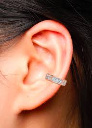 earrings ear safety pin earring ko