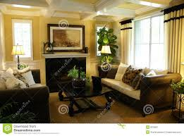 yellow livingroom beautiful yellow living room royalty free stock photography