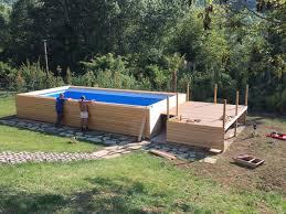 rivestimento in legno per piscine fuori terra piscina fuori terra con rivestimento in larice siberiano piscine