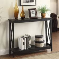 walmart sofa table oak finish console tables furniture