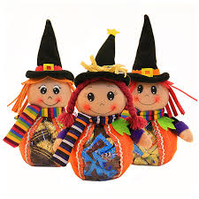 creative plastic halloween candy bags and boy dolls birthday