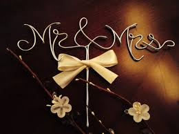 wire cake toppers mr and mrs wedding cake topper gold cake topper cake topper