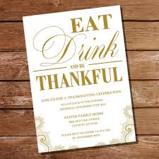 thanksgiving family home evening traditional thanksgiving invitation gold and white eat drink