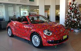 christmas car at volkswagen of garden grove