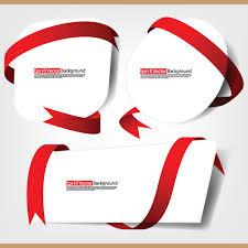 wrapping ribbon ribbons and cards vector material ribbon wrapping bows free vector