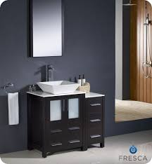 Espresso Wall Cabinet Bathroom by 36