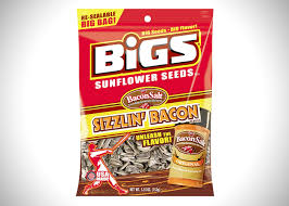 bigs bacon sunflower seeds bigs sizzlin bacon sunflower seeds hiconsumption