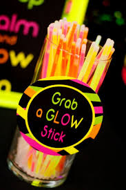glow in the birthday party neon party ideas neon uv party glow in the party supplies