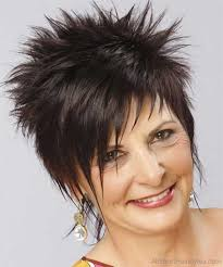 spiky haircuts for seniors 70 pretty short spiky hairstyles