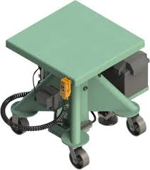 Battery Table L Battery Powered Post Lift Tables