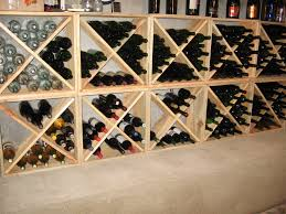 home design interior diy wine rack from a wood pallet