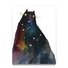 space kitty u2013 eyes on walls