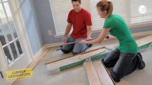 Laminate Flooring Lumber Liquidators Weekend Project Install Laminate Flooring Youtube
