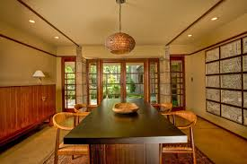 frank lloyd wright home interiors frank lloyd wright millard house open plan dining doors to terrace