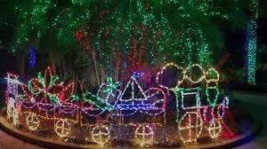 Largo Botanical Garden Florida Botanical Gardens Lights Display 2016