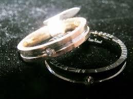 free wedding band silve gold black bogo 2pc couples matching promise ring set free