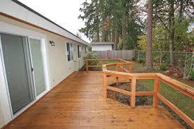 Deck In The Backyard Frazier Yard Back 3 Jpg