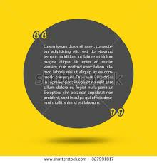 Business Cards Quotes Template Vector Quotes Quote Blank Template Stock Vector 327991817