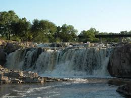 South Dakota waterfalls images Falls of the big sioux river sioux falls jpg