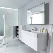 mirrored bathroom wall cabinet dl754 series by eoos duravit