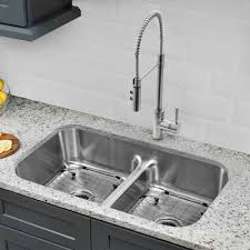 Hahn Classic Chef  X  Double Bowl Undermount Kitchen - Double bowl undermount kitchen sinks