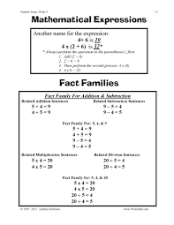 number sense worksheets 3rd 4th 5th grade math just turn and