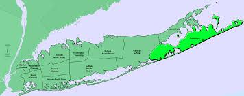 Hamptons Map Geographical Boundaries Hamptons