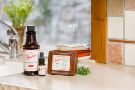 cleaning your kitchen with thieves products young living blog