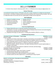 Sample Career Objective For Teachers Resume by Best Education Assistant Director Resume Example Livecareer