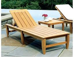 Outdoor Wood Chaise Lounge Royal Teak Collection Steamer 2 Person Teak Chaise Lounge Set End